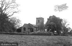 St Nicholas' Church c.1955, Norton