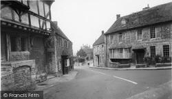 Norton St Philip, Bell Hill c.1960