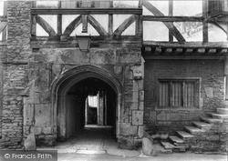 Norton St Philip, Door At The George Inn c.1950