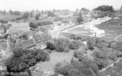 Norton St Philip, General View c.1960