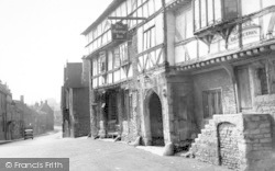 Norton St Philip, High Street c.1950