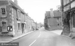 Norton St Philip, High Street c.1960