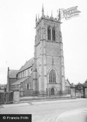 Norton, The Church c.1955, Norton-on-Derwent