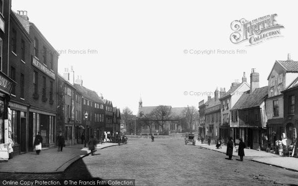 Norwich, Ber Street 1891
