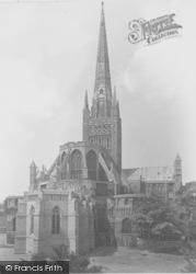 Norwich, Cathedral 1932