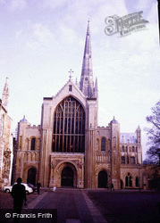 Norwich, Cathedral 1978