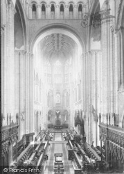 Norwich, Cathedral, Choir East 1891