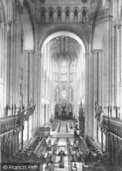 Norwich, Cathedral, Choir East 1896