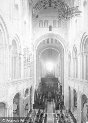 Norwich, Cathedral, Choir West 1891
