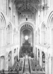Norwich, Cathedral, Choir West 1896