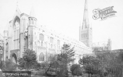 Norwich, Cathedral, South West 1891