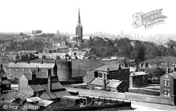 Norwich, From St James Hill 1896