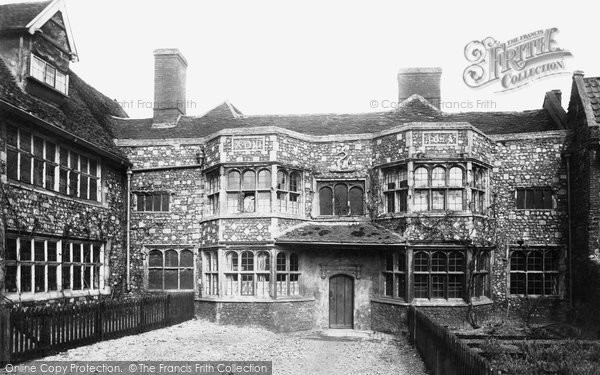 Norwich, Old Palace at Heigham 1891