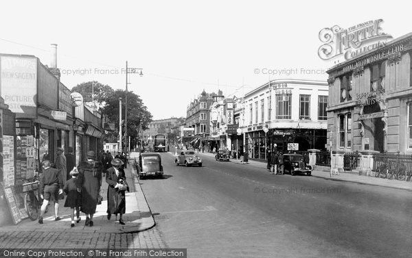 Norwich, Prince Of Wales Road 1938