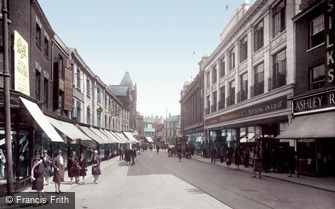 Norwich, Rampant Horse Street 1929