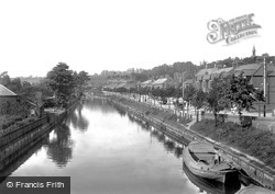 Norwich, Riverside Road And River Wensum 1901