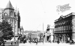 Norwich, Royal Hotel And Post Office 1901
