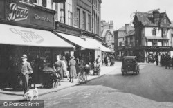 Norwich, Shops, London Street 1932