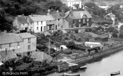 Noss Mayo, Globe Inn, And Villagers' Gardens 1931