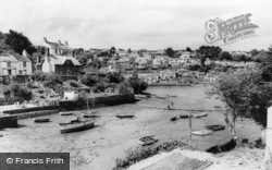 Noss Mayo, Low Tide c.1960