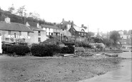 Noss Mayo, Point House and the Globe Inn c1950