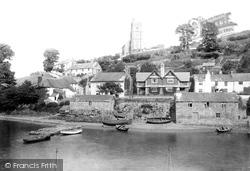 Noss Mayo, River Yealm 1890