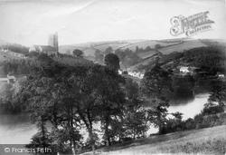 Noss Mayo, River Yealm 1901