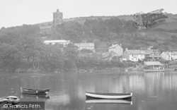 Noss Mayo, St Peter's Church From The River Yealm 1924