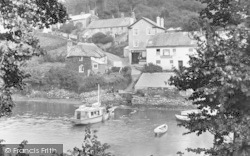 Noss Mayo, The Swan Inn 1924