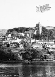 Noss Mayo, The Village From Newton Ferrers c.1960