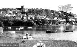 Noss Mayo, The Village From Newton Ferrers c.1965
