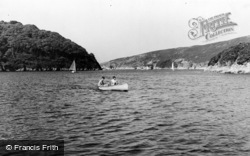 Noss Mayo, The Yealm Mouth c.1960