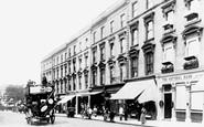 Notting Hill, High Street c1890