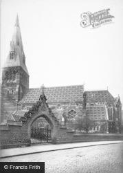 Nottingham, All Saints Church 1890