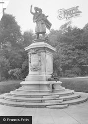 Nottingham, Ball Memorial c.1923