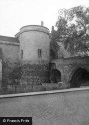 Nottingham, Castle 1954