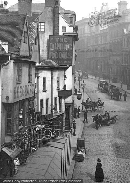 Photo of Nottingham, Cheapside 1890, ref. 22821x
