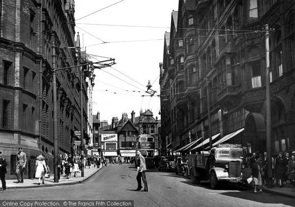 Photo of Nottingham, King Street c.1950