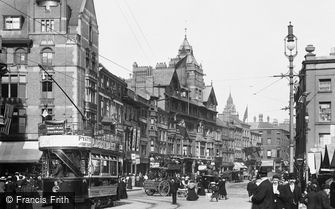 Nottingham, Long Row East 1902
