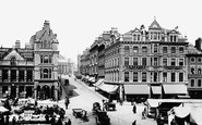 Nottingham, Market Street 1890