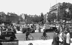 Old Market Square c.1950, Nottingham