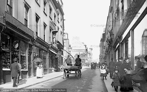 Nottingham, Pelham Street 1890