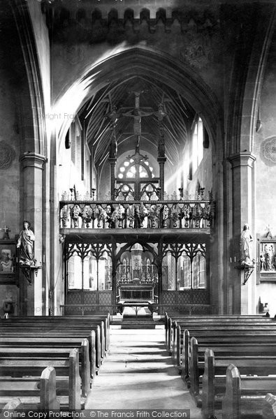 Photo Of Nottingham St Barnabas Cathedral 1890