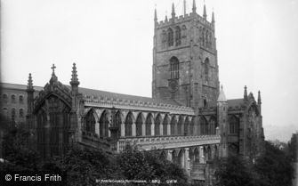 Nottingham, St Mary's Church c1890