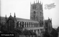 Nottingham, St Mary's Church c.1890