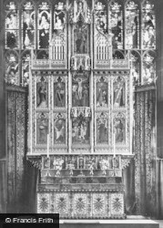 Nottingham, St Mary's Church, Reredos 1890
