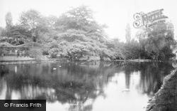 Nottingham, The Arboretum 1893