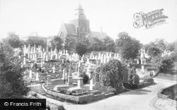 Nottingham, The Cemetery 1893