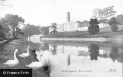 Nottingham, The University 1928