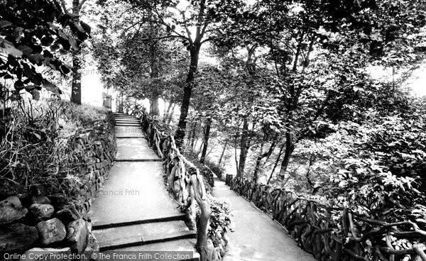 Nottingham, the Zig-Zag Walk 1923